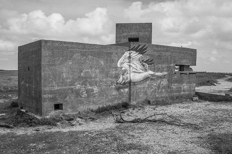 Pillbox, Sheppey, Kent (photo from series on Kent coast)
