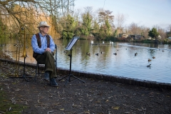 The Alexander Collection (People and Places exhibition) - Martin Nicholls, Stonebridge Pond, Faversham, Kent