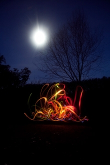 'Elements - Fire' - light painting series