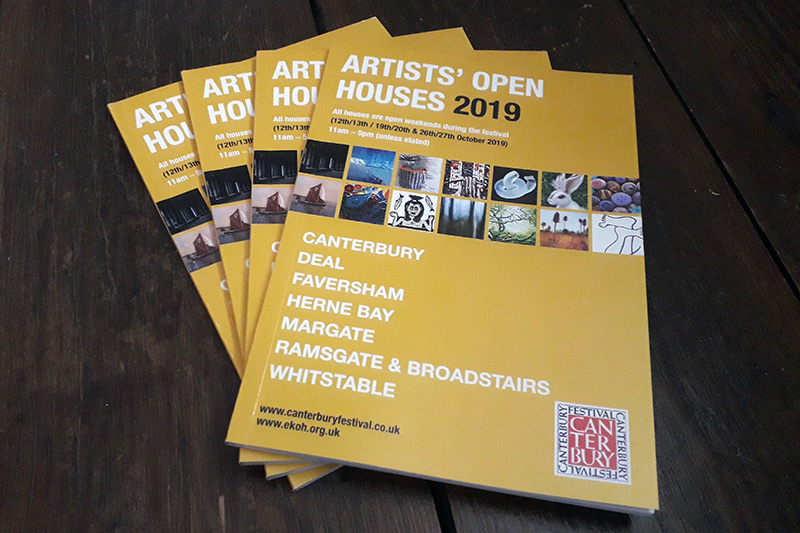 East Kent Open House 2019 booklets