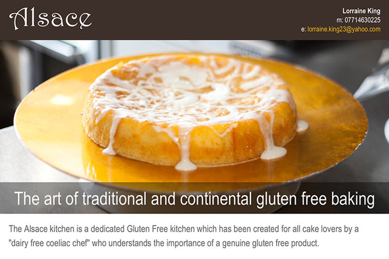 Alsace (website) - www.alsacebaking.co.uk