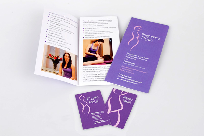 Marie Daniels Physio/Physio Natal (logo/branding)