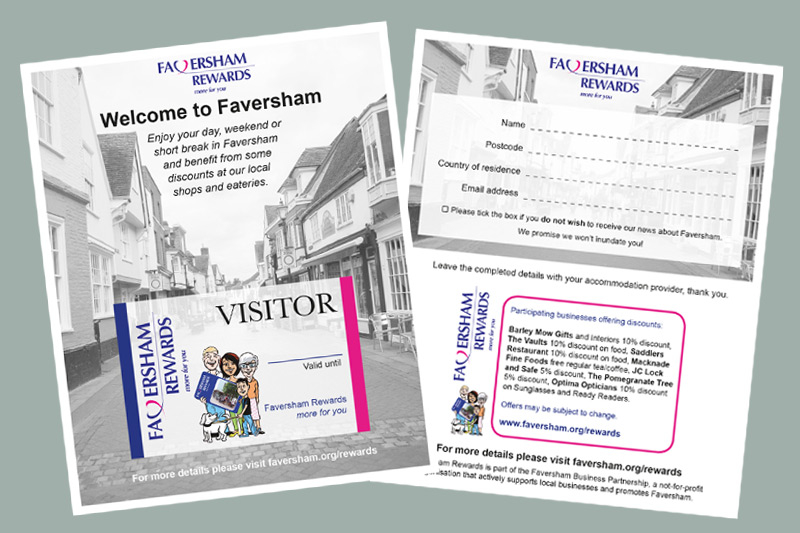Faversham Business Partnership (Faversham Rewards) flyer