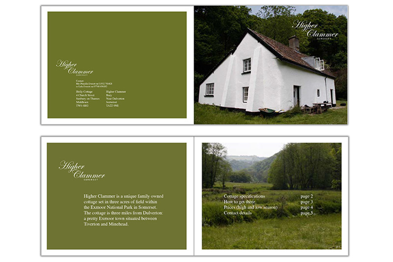 Higher Clammer (brochure design)