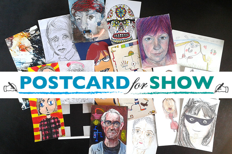 Postcard for Show (logo) - www.facebook.com/postcardforshow