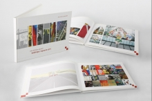 Corporate office art brochure