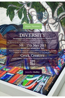 Poster design - DIVERSITY exhibition
