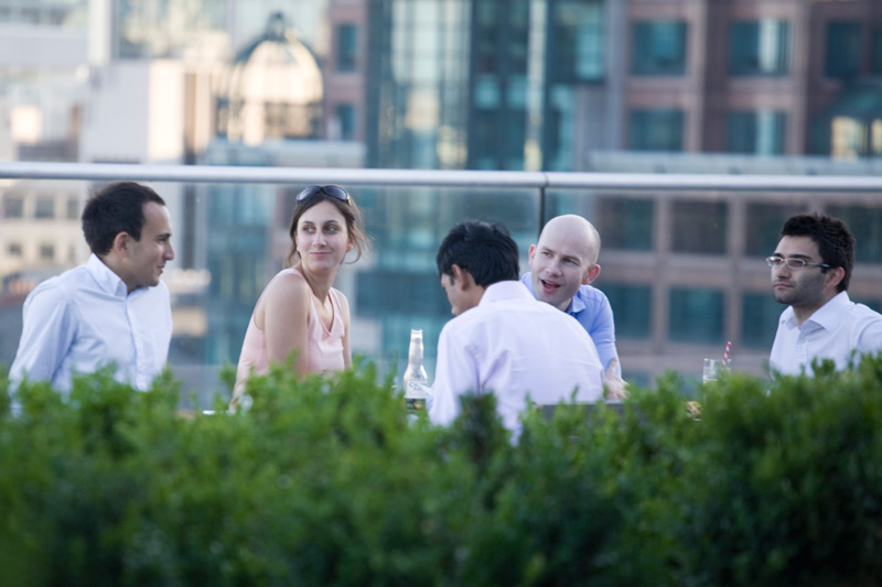 Corporate Summer roof terrace party