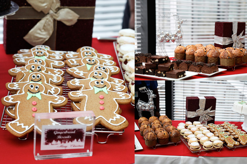 Client event - festive afternoon tea and cakes