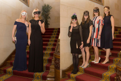 Masked Ball party poses