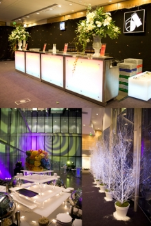 Event set up - Christmas party