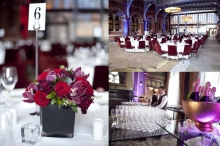 Event set up - St Pancras Hotel, London