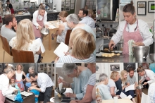 Cookery demonstration (Creek Creative, Faversham)